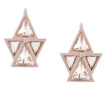 14kt 'Pira' Weißgoldohrringe mit Diamant