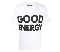 "T-Shirt mit ""Good Energy""-Print"