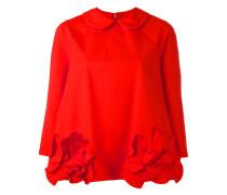 Bluse mit Rüschen - women - Baumwolle - M