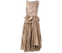 Kleid mit Rüschen - women - Seide/Baumwolle - 46