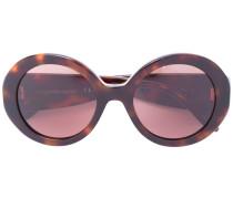 Runde Sonnenbrille in Schildpattoptik - women