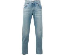 """Jeans mit """"Loved""""-Stickerei - men - Baumwolle"""