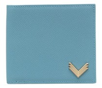 x Velante Portemonnaie mit Logo-Schild