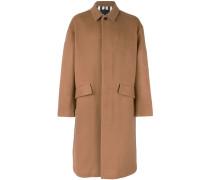 Oversized-Mantel mit Knöpfen