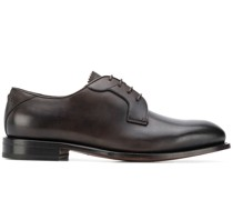 almond toe derby shoes