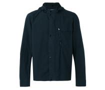 - hooded lightweight jacket - men