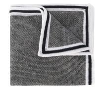 Krawatte mit gestreiftem Rand