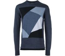 Jacquard-Pullover mit geometrischem Muster
