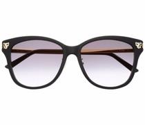 Runde Panthère de Cartier Sonnenbrille