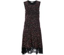 lace detail bobble dress