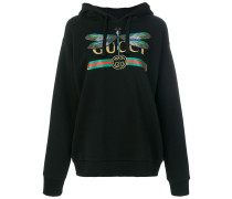 Logo and Dragonfly hoodie