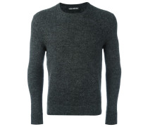 Melierter Pullover - men - Nylon/Alpakawolle