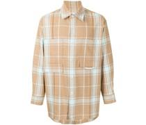 Kariertes Tweed-Hemd