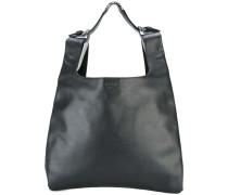 - Zweifarbige Handtasche - women - Kalbsleder
