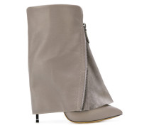 foldover ankle boots
