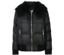 padded fur collar jacket