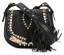 Satteltasche mit Nieten - women - Leder