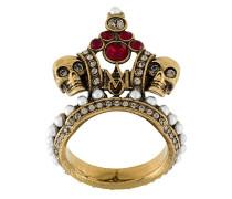 'Crown Skull' Ring
