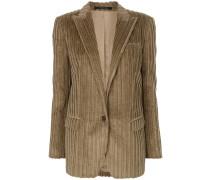 rib textured blazer