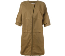 shortsleeved coat - women - Baumwolle/Elastan