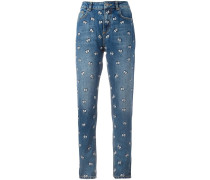 Janis cartoon eyes jeans