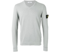 logo patch jumper - men - Baumwolle/Polyamid - L