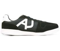 Sneakers mit Logo-Applikation - men