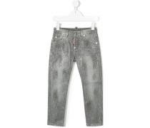 stud detail jeans