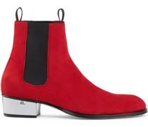 'Abbey' Stiefel mit Plexiglas-Absatz