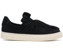 Slip-On-Sneakers mit Raffung