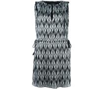Kleid mit Chevron-Print - women