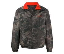 Wendbare Jacke mit Camouflage-Print