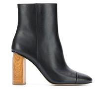 Stiefel mit Holzabsatz, 90mm