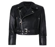 Carolyne Flynn biker jacket
