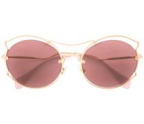 - Runde Sonnenbrille - women - Acetat/metal - 57