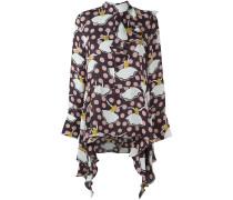 pirouette print blouse