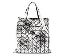 Handtasche in Metallic-Optik