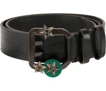star embellished Icon belt