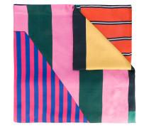 contrast scarf - women - Baumwolle