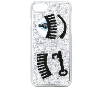 'Winking Eye' iPhone 7-Hülle - women - PVC