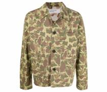 Utility-Jacke mit Camouflage-Print