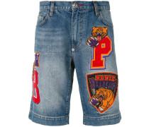 - Jeans-Shorts mit Patches - men - Baumwolle - 30