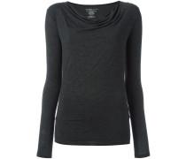 - Asymmetrisches Langarmshirt - women