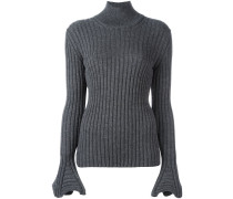 Gerippter Pullover - women - Wolle - XS