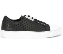 Sneakers mit Laser-Cuts - men - Leder/rubber