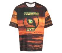 "T-Shirt mit ""Tigers Eye""-Print"