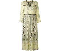 Kleid mit Paisley-Print