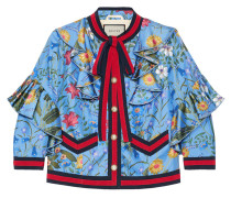 New flora silk jacket - women - Seide - 36