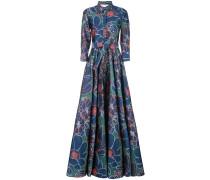 Robe mit Blumen-Print