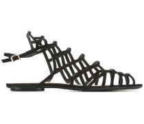 Sandalen mit Gittermuster - women